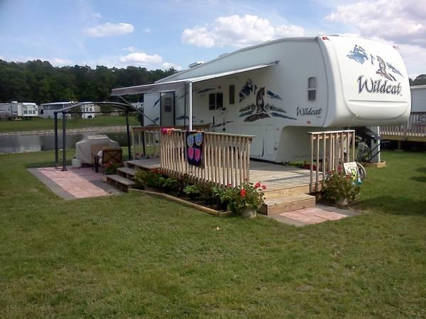 2006 Wildcat 5th Wheel Bunkhouse For Sale In Park Rapids Minnesota