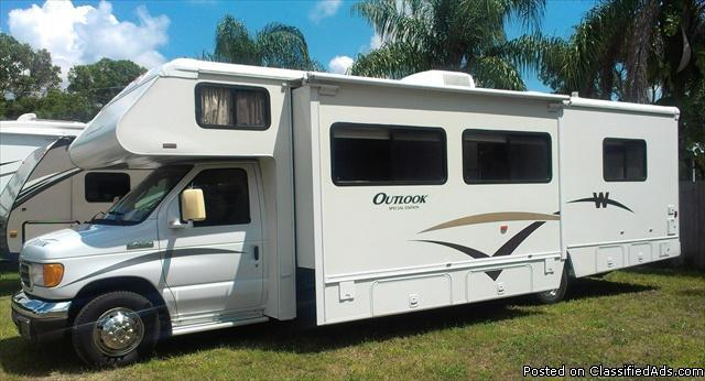 2006 Winnebago Outlook 31c 31 Class C Motorhome 2006