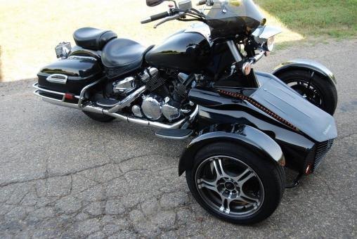 2006 YAMAHA ROYAL STAR REVERSE TRIKE MOTORCYCLE TRIKE