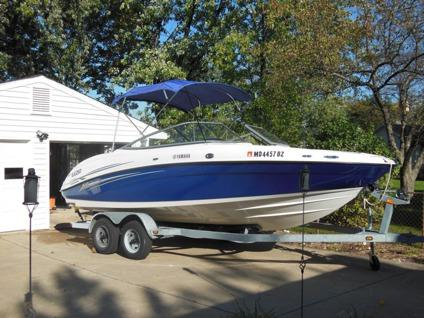 2006 yamaha sx 210 jet boat trailer for sale in sterling for Yamaha sx210 boat cover