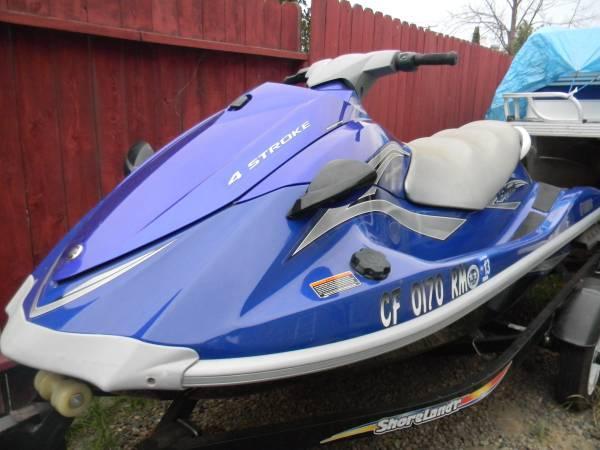 2006 yamaha waverunner 46hrs for sale in sacramento for 2006 yamaha waverunner