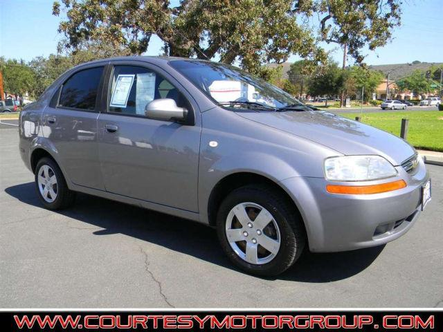 2006 chevrolet aveo ls for sale in thousand oaks. Black Bedroom Furniture Sets. Home Design Ideas