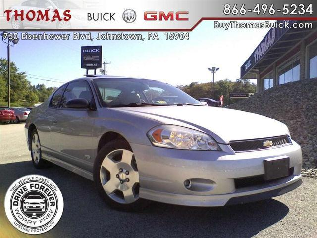 2006 chevrolet monte carlo ss for sale in johnstown. Black Bedroom Furniture Sets. Home Design Ideas