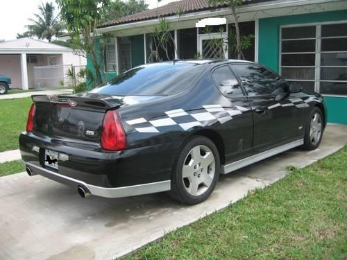 2006 chevrolet monte carlo ss taz edition pace car replica halo hid for sale in miami florida. Black Bedroom Furniture Sets. Home Design Ideas