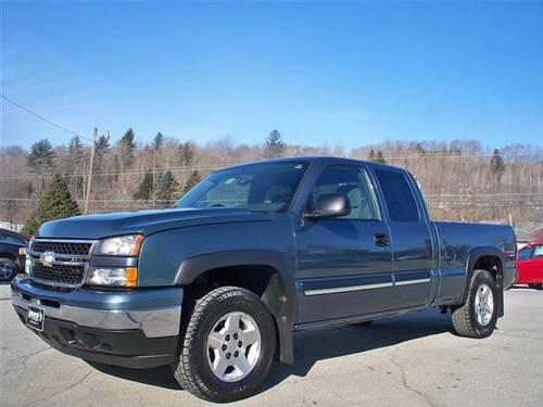 2006 chevrolet silverado 1500 extended cab lt pickup 4d 6. Black Bedroom Furniture Sets. Home Design Ideas