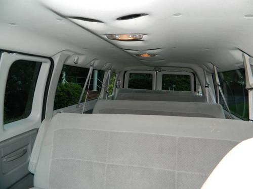 2006 e350 15 passenger van church van school bus shuttle for sale in dade city florida. Black Bedroom Furniture Sets. Home Design Ideas