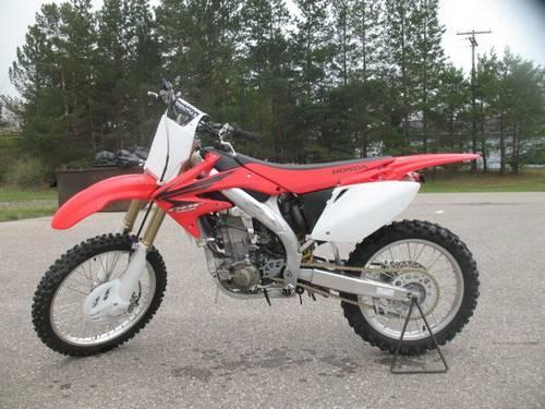 2006 honda crf450r dirt bike for sale u1046 for sale in sandusky michigan classified. Black Bedroom Furniture Sets. Home Design Ideas