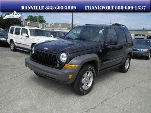 2006 jeep liberty suv sport for sale in danville kentucky classified. Black Bedroom Furniture Sets. Home Design Ideas
