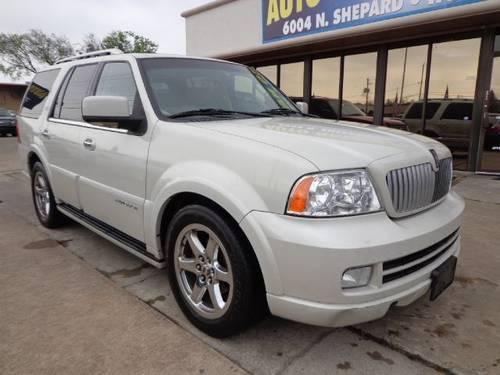 2006 lincoln navigator pearl white for sale in houston texas classified. Black Bedroom Furniture Sets. Home Design Ideas