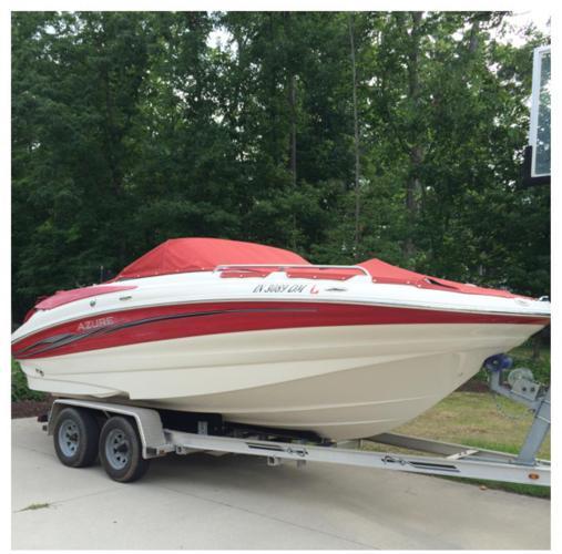 2007 20 39 bennington azure deck boat plus trailer for sale in fort wayne indiana classified. Black Bedroom Furniture Sets. Home Design Ideas