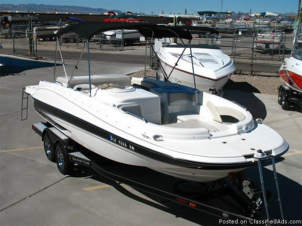 2007 21 5 Glastron Dx 215 Deck Boat Gl4977c For Sale In