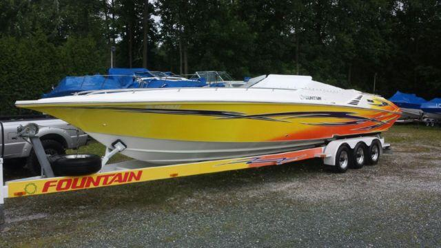 2007 35' FOUNTAIN LIGHTNING for Sale in Staten Island, New