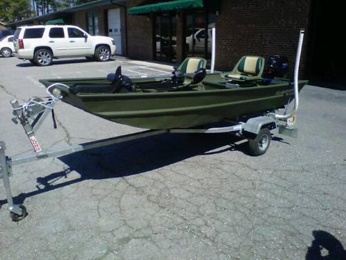 2007 alumacraft jon boat like new obo for sale in smithfield north carolina classified. Black Bedroom Furniture Sets. Home Design Ideas