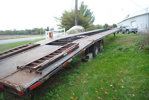 2007 appalachian 4 car wedge trailer for sale in stuart florida classified. Black Bedroom Furniture Sets. Home Design Ideas