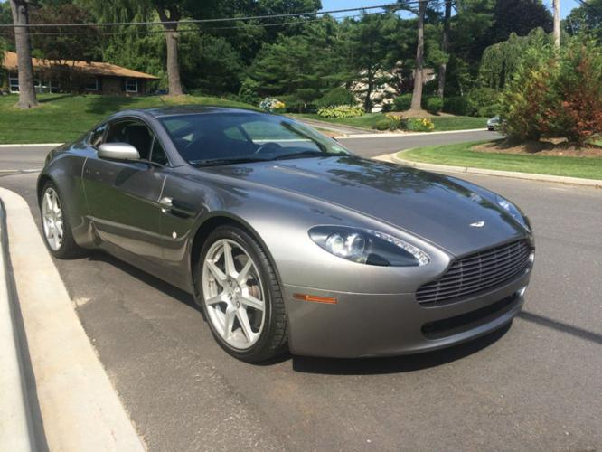 2007 aston martin vantage for sale in otisville new york classified. Black Bedroom Furniture Sets. Home Design Ideas