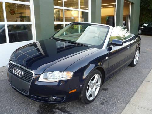 2007 audi a4 quattro convertible for sale in milford connecticut classified. Black Bedroom Furniture Sets. Home Design Ideas