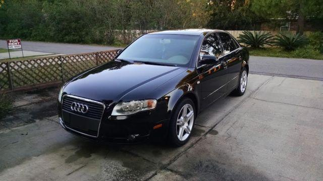 2007 Audi A4 Turbo,Black - Premium Package