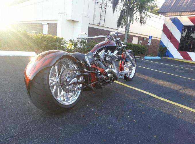 2007 Big Bear Choppers Pro Street Sled 350