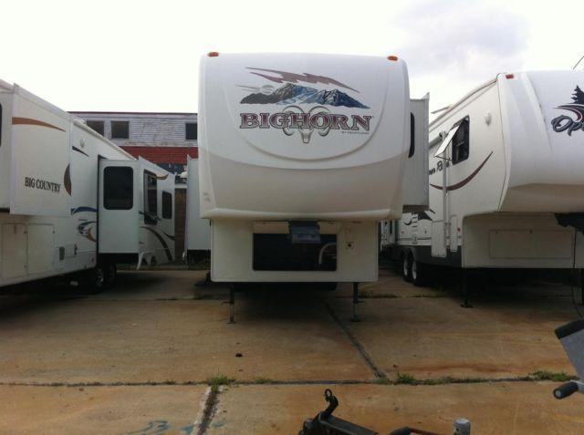 2007 BIGHORN 5TH WHEEL TRIPLE SLIDES=>LOADED OUT!