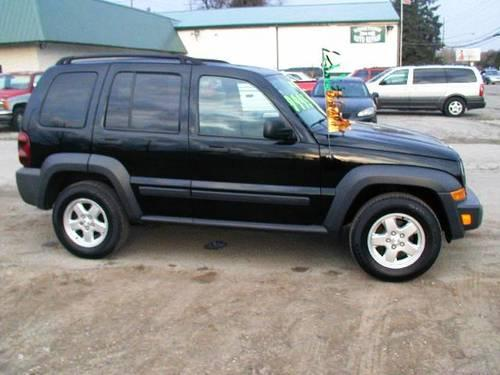 2007 black jeep liberty 4wd at 4 door for sale in fort wayne indiana classified. Black Bedroom Furniture Sets. Home Design Ideas