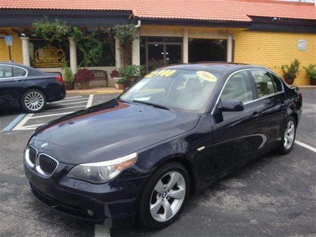 2007 BMW 5 Series 525i 525i 4dr Sedan