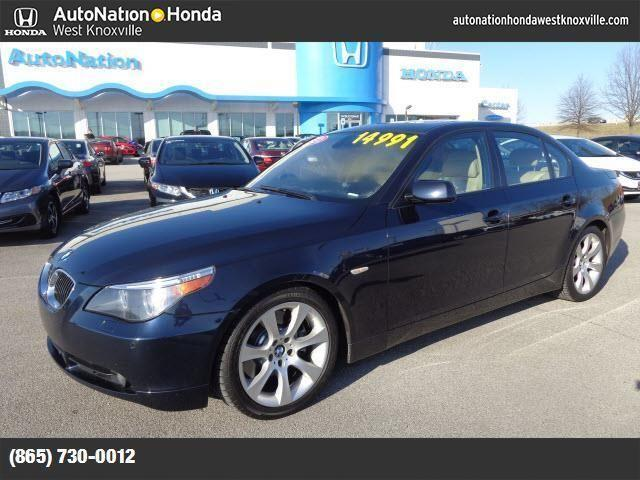 2007 bmw 5 series for sale in knoxville tennessee classified. Black Bedroom Furniture Sets. Home Design Ideas