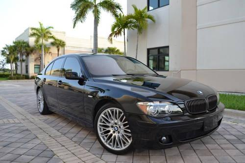 2007 bmw 750i sport package certified cpo warranty free maintenance for sale in west palm. Black Bedroom Furniture Sets. Home Design Ideas