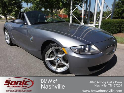 2007 Bmw Z4 Convertible 3 0si For Sale In Nashville