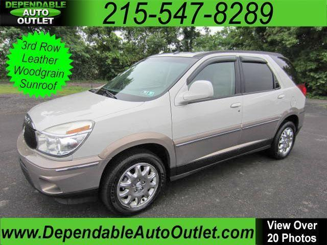 2007 buick rendezvous cxl 3rd row leather woodgrain sunroof for sale in fairless hills. Black Bedroom Furniture Sets. Home Design Ideas