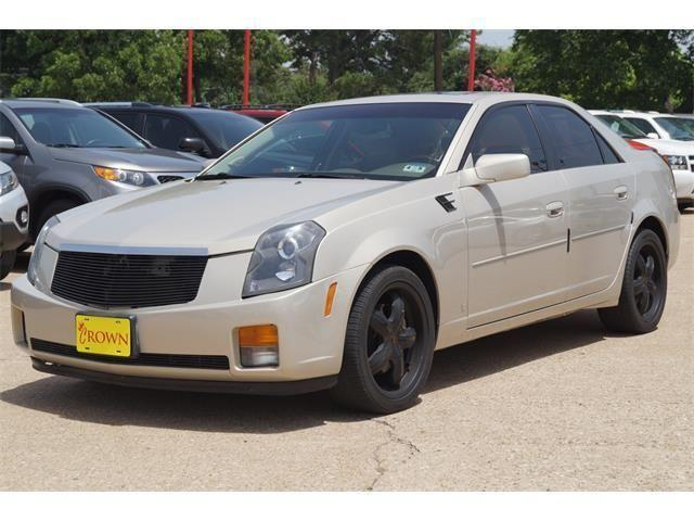 2007 cadillac cts 4dr car w 1sa for sale in tyler texas for Crown motor company tyler tx