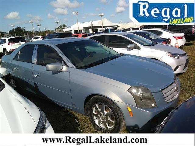 2007 Cadillac CTS Base 4dr Sedan (3.6L V6)