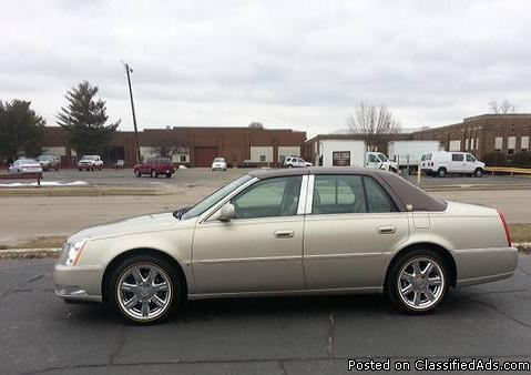 2007 cadillac dts for sale in south bend indiana classified. Black Bedroom Furniture Sets. Home Design Ideas