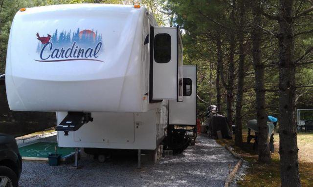2007 Cardinal 5th Wheel 30ft For Sale In Deering New Hampshire Classified Americanlisted Com