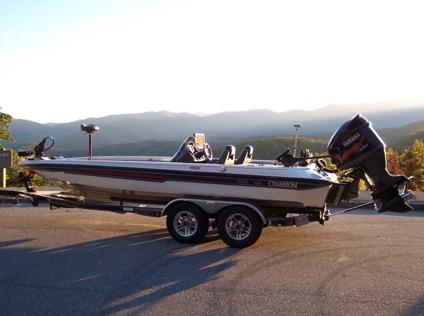 2007 champion 210 elite bass boat with 250 hp motor yamaha for Yamaha 250 boat motor for sale