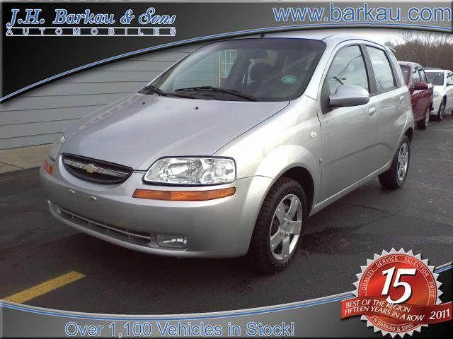 2007 chevrolet aveo 5 ls for sale in cedarville illinois. Black Bedroom Furniture Sets. Home Design Ideas