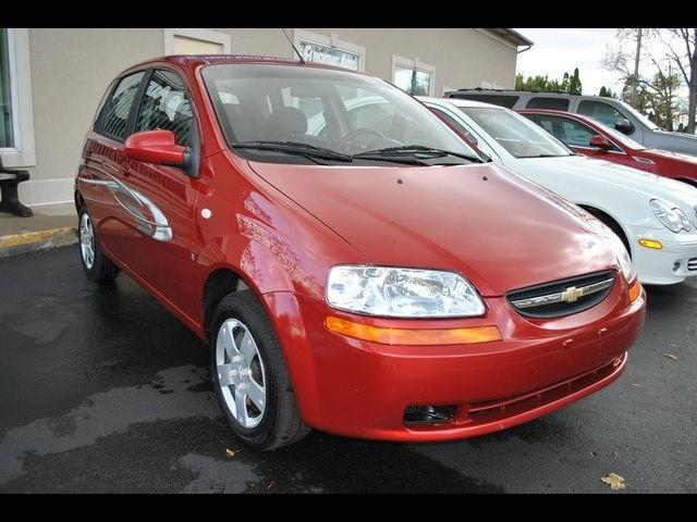 2007 chevrolet aveo 5 ls for sale in flushing michigan. Black Bedroom Furniture Sets. Home Design Ideas