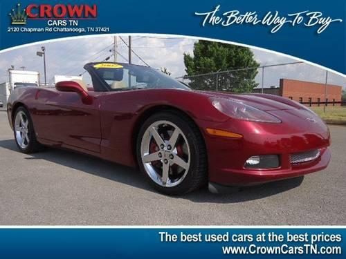 2007 chevrolet corvette convertible for sale in chattanooga tennessee classified. Black Bedroom Furniture Sets. Home Design Ideas
