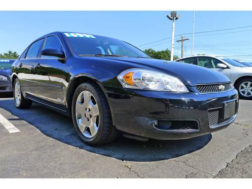2007 chevrolet impala 4 dr sedan ss for sale in new haven connecticut classified. Black Bedroom Furniture Sets. Home Design Ideas