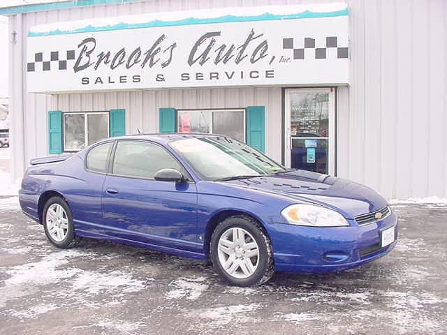 2007 chevrolet monte carlo lt for sale in manitowoc wisconsin classified. Black Bedroom Furniture Sets. Home Design Ideas