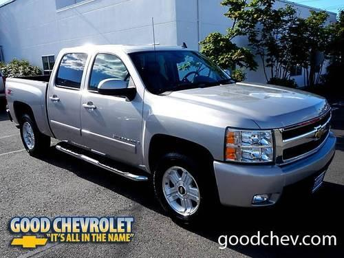 2007 chevrolet silverado 1500 4d crew cab ltz 4x4 for sale. Black Bedroom Furniture Sets. Home Design Ideas