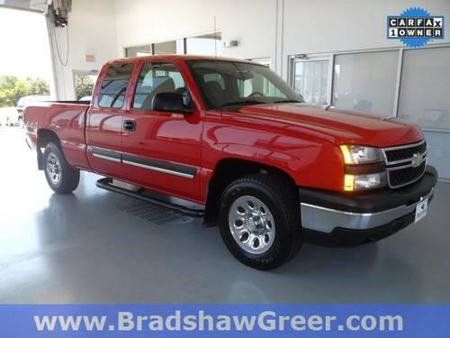 2007 chevrolet silverado 1500 classic 4d extended cab work truck for sale in greer south. Black Bedroom Furniture Sets. Home Design Ideas