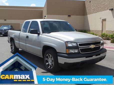 Carmax Extended Warranty >> 2007 Chevrolet Silverado 1500 Classic Work Truck Work Truck 4dr Extended Cab 6.5 ft. SB for Sale ...