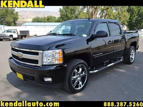 2007 chevrolet silverado 1500 crew cab pickup ltz for sale. Black Bedroom Furniture Sets. Home Design Ideas