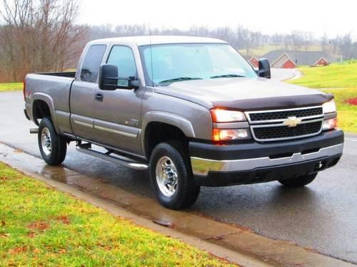 2007 chevrolet silverado 2500hd classic pickup truck lt1 for sale in williamstown kentucky. Black Bedroom Furniture Sets. Home Design Ideas
