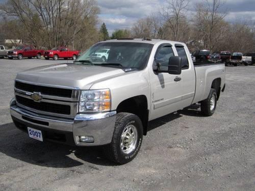 2007 chevrolet silverado 2500hd extended cab pickup lt w 1lt for sale in clinton new york. Black Bedroom Furniture Sets. Home Design Ideas
