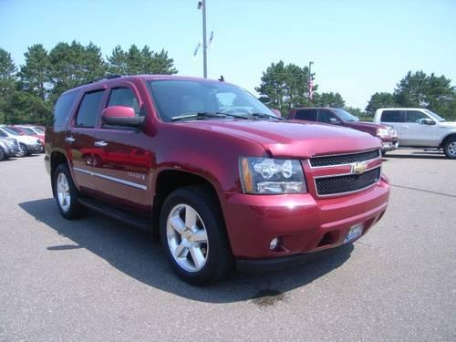 2007 chevrolet tahoe suv 4 door for sale in isanti minnesota classified. Black Bedroom Furniture Sets. Home Design Ideas