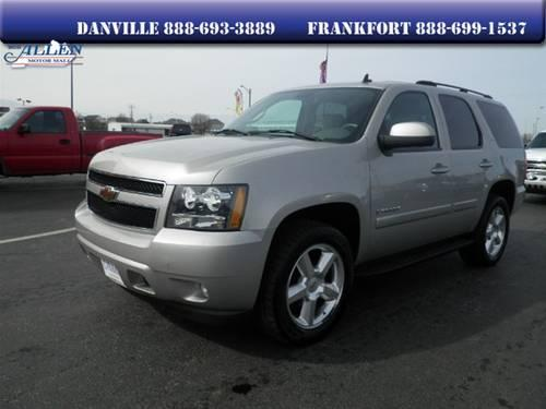 2007 chevrolet tahoe suv for sale in danville kentucky. Black Bedroom Furniture Sets. Home Design Ideas