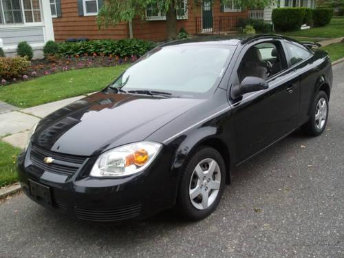 2007 chevy cobalt lt 2door coupe 29 000 miles black. Black Bedroom Furniture Sets. Home Design Ideas