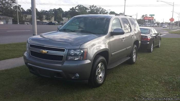 2007 chevy tahoe for sale in jacksonville florida classified