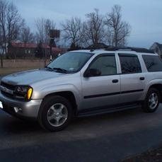 2007 Chevy Trailblazer with Right Hand Drive